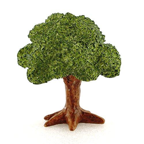 Top Collection 4375 Miniature Fairy Garden & Terrarium Mini Leafy Tree Decor with Pick, Small