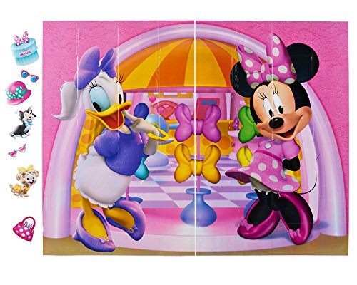 American Greetings Minnie Mouse Photo Kit, Backdrop and Props, 10-Count -