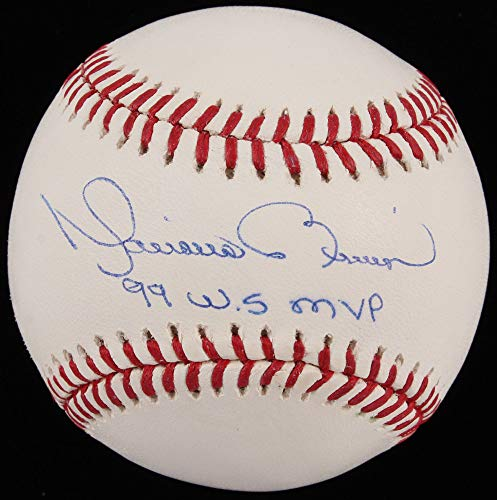 Mariano Rivera Autographed Signed MLB Baseball with 99 WS MVP Insc - Steiner ()