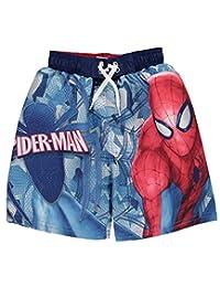 "Spider-Man Little Boys' ""Iced Web"" Boardshorts"