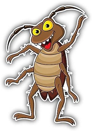 olyaprint Calcomanía de Vinilo de Dibujos Animados de cucaracha ...