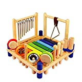 ZYN Child Percussion Instrument Combination Enlightenment Early Education Wooden Educational Toy