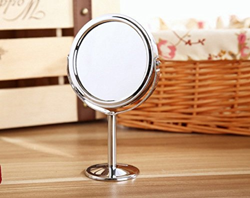 Excellent.advanced® Korean-style mirror vanity mirror desktop rotating small mirror 1: 2 magnification - Package Track Usps.com My