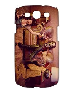 """designer phone cases/covers for Samsung Galaxy S3 I9300 (3D) plastic with TV show """"once upon a time"""" pattern-19"""