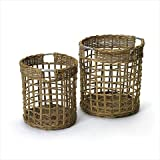 Deco Home Set of Two Contents Baskets