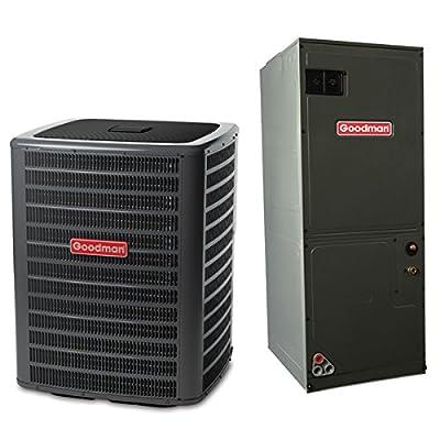 2 Ton 14 SEER Multi Speed Goodman Central Air Conditioner Split System - Multiposition