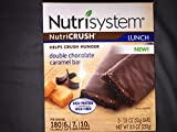Nutrisystem Double Chocolate Caramel bars 1 Box ( 5 Bars)