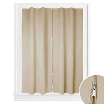 Office curtains Blinds Blackout Curtain Window Screen Privacy Drape For Cafe Office Sticky Frame Middle Zip Amazoncom Amazoncom Blackout Curtain Window Screen Privacy Drape For Cafe