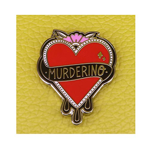 Fashion wonderland Stay Sexy Don't Get Murdered Pin Badge Brooch Gift Enamel pin (Stay Sexy Don T Get Murdered Pin)