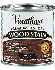 طلاء للخشب بريميوم سريع الجفاف فاراثين 262025 من رست اوليوم، 236 مل - دارك والنت