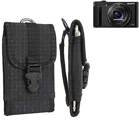 K-S-Trade® Bolsa del Cinturón/Funda para Sony Cyber-Shot DSC-HX99 ...