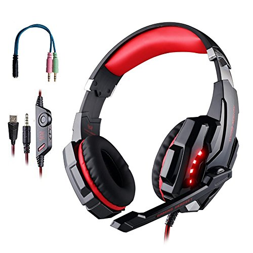 Emarth 3.5mm Stereo Gaming Headset, Noise Reduc...