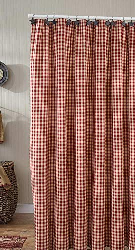Park Designs Crochet Gingham Shower Curtain 72x72 ()