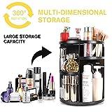 AI&U 360° Rotating Makeup Organizer,DIY Adjustable