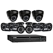 Lorex 16 Channel 4MP Security System with 9 4MP Cameras with 130