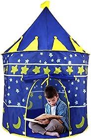 Redlemon Casa de Campaña y Juegos para Niños en Forma de Castillo, para Interiores y Exteriores, Plegable, Por