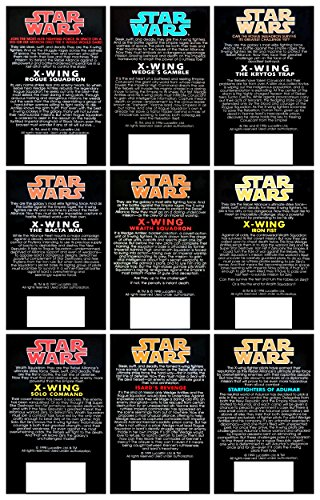 Star Wars New Jedi Order (19 Books), Legacy of the Force (9 Books) & X-Wing (9 Books) Complete 37 Book Set