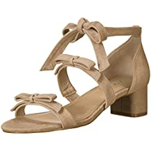 The Fix Women's Mischa Block Heel Ankle Wrap Sandal with Bows