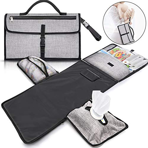Gimars XL 6 Pockets Holding Anything Portable Baby Diaper Changing