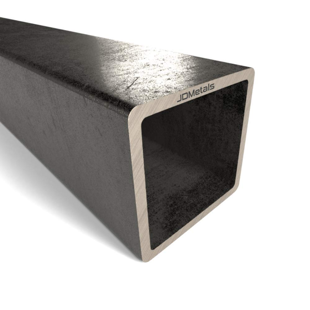 1500mm Square Mild Steel Box Section Sizes from 20mm to 100mm 20mm x 20mm x 2mm