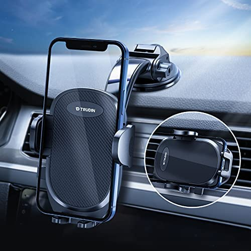 【Military-Grade】 Car Phone Mount, 【Thick...
