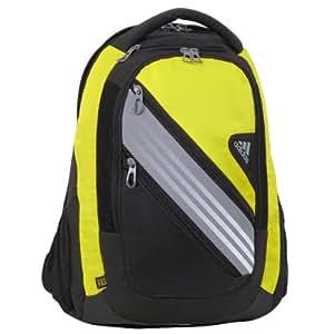 adidas Climacool Speed Iii Backpack, Vivid Yellow/Tech Grey/Black, 20x14x9-Inch