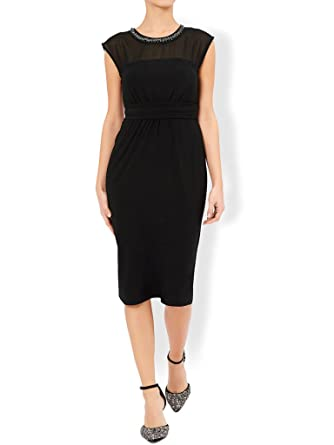 Monsoon New Women?s Embellished Serena Cocktail Dress ? UK Size 8 ? 18 -