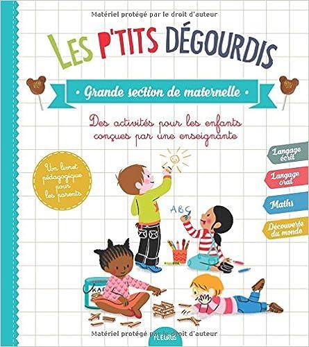 Livres Les p'tits dégourdis, grande section de maternelle pdf, epub ebook