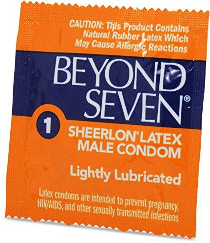 (OKAMOTO Beyond Seven Lubricated Condoms - 100 bulk)