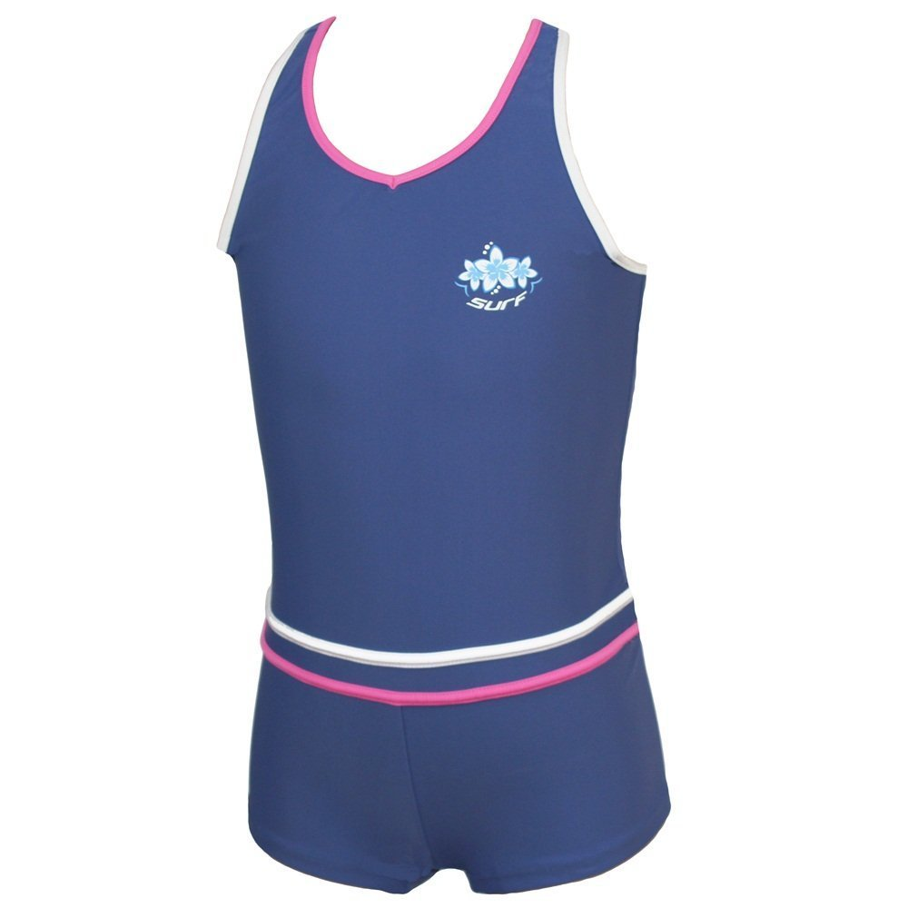 10-11 /& 12-13 years Size 8-9 Girls Boyleg Swimming Costume 9-10