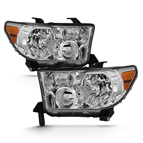 - Fits 2007-2013 Toyota Tundra + 2008-2013 Sequoia Original Manufacturer Style Headlight Assembly Pair