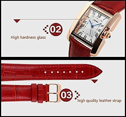 Amazon.com: Reloj De Dama Para Mujer Women Watches Roman Numbers Casual Women Wristwatch Relogio Feminino RE0032: Watches
