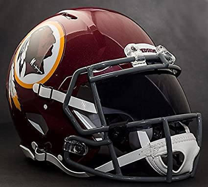 65b945bc1e1 Image Unavailable. Image not available for. Color  Riddell Speed Washington  Redskins NFL Replica Football Helmet ...
