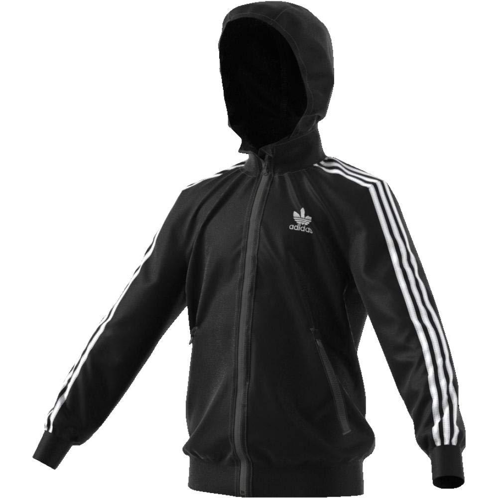 adidas Bb Hooded Track Jacke Kinder: : Bekleidung