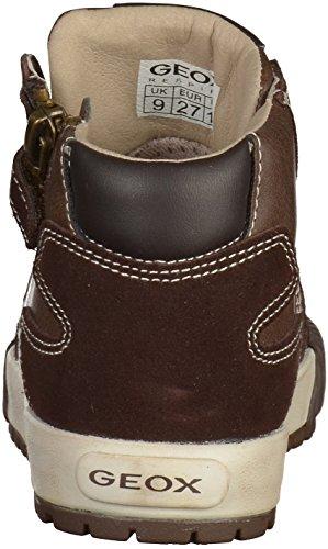 Geox Jr Mythos  - Zapatillas de deporte para niño marr�n