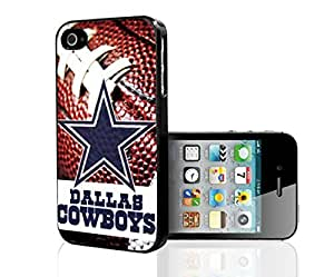 Dallas Cowboys Football Sports Hard Snap on Phone Case (iPhone 5/5s) by icecream design