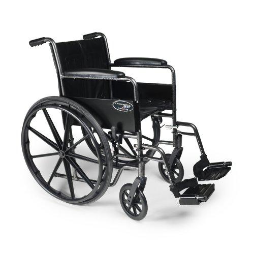 Everest & Jennings  3E010200 Traveler SE Wheel Chair, 16