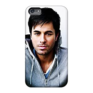 Apple Iphone 6s WTd11251PmRW Support Personal Customs Stylish Enrique Miguel Iglesias Pattern Shockproof Hard Phone cases for Happy Christmas and Happy New Year -customcases88