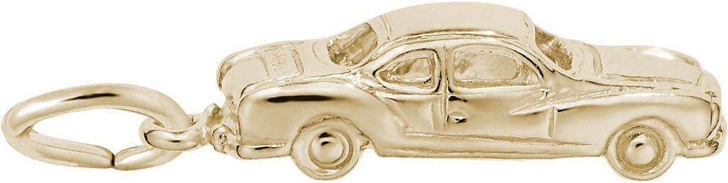 Rembrandt Classic Business Coupe Charm - Metal - 14K Yellow Gold by Rembrandt Charms