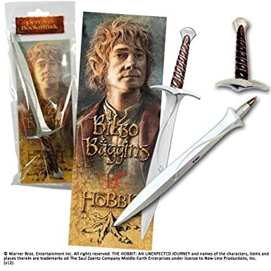 THE HOBBIT – STING Sword Pen and Bookmark – LOTR