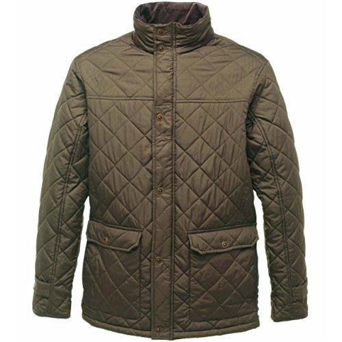 3XL Quilted Jacket Mens Dark Regatta Khaki Tyler Size gxqBq10