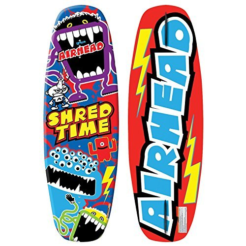 AIRHEAD Shred Time Wakeboard Size 4-8 [並行輸入品] B072Z6R3TK