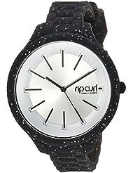 Rip Curl Horizon Quartz Plastic and Silicone Sport Watch, Color:Black (Model: A2974G-NVA)
