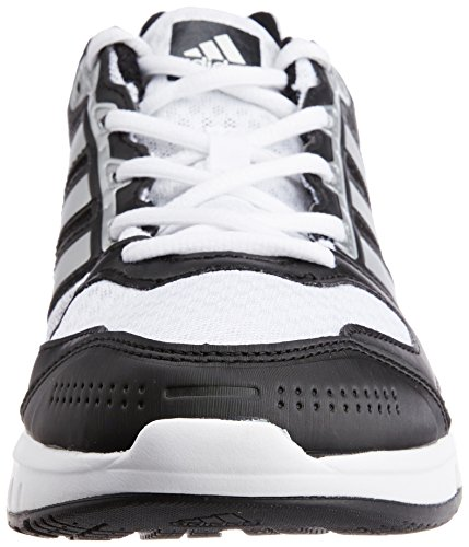 Adidas Galaxy - Zapatillas de running para hombre Running White/Metallic Silver/Black 1