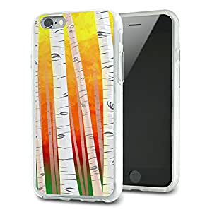 Birch Trees in Autumn Slim Fit Hybrid Case Fits Apple iPhone 6