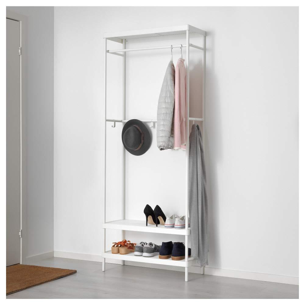 IKEA ASIA MACKAPAR - Perchero con Zapatero: Amazon.es: Hogar