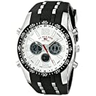 U.S. Polo Assn. Sport Men's Watch with Black Rubber Strap Watch US9061