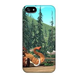 For Iphone 5/5s Fashion Design Manny & Ellie Ice Age Case-mVj3507wYYU