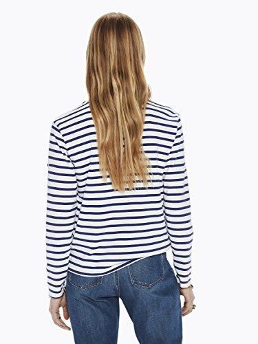 Long amp; Stripes shirt Tee Fit 17 combo Multicolore In Friend Scotch Sleeve Soda Donna Breton A T ndzaqWxI