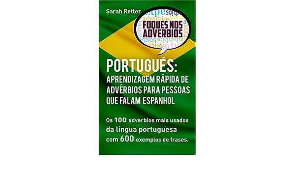 Português Aprendizagem Rápida De Advérbios Para Pessoas Que